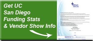 Get UCSD  Funding Stats &  Vendor Infoformation