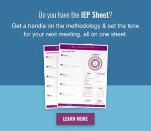 IEP Sheet Graphic