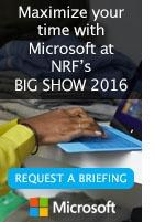 Microsoft at NRF's BIG Show 2016 [Request a briefing]