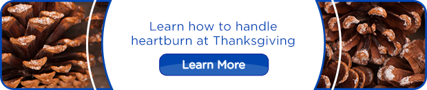 Learn how to handle heartburn at Thanksgiving