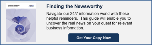 Download Finding the Newsworthy White Paper Now