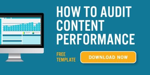 Content Audit Template Link