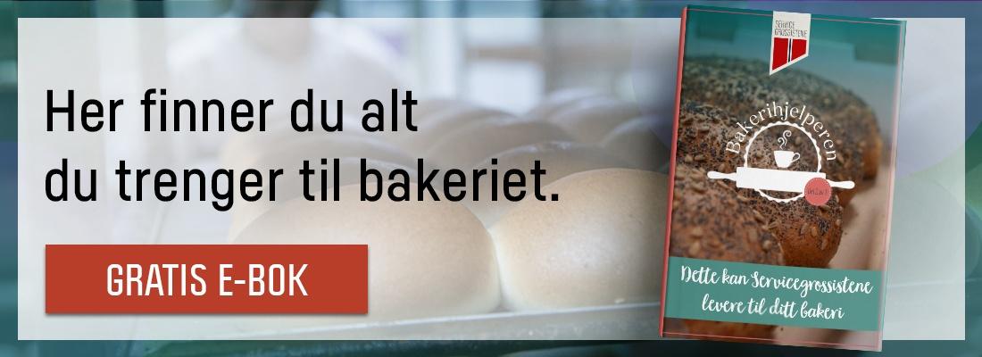 Her finner du alt du trenger til bakeriet.