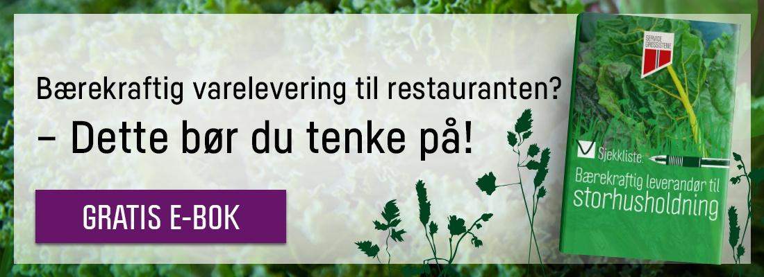 Bærekraftig varelevering til restaurant? Dette bør du tenke på!