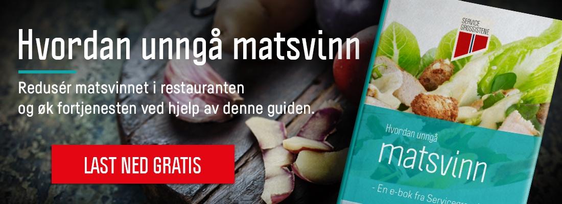 Gratis e-bok: Hvordan unngå matsvinn