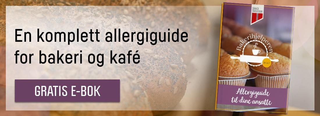 En komplett allergiguide for bakeri og kafé