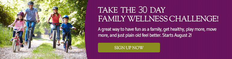 Take the 30 Day Family Wellness Challenge