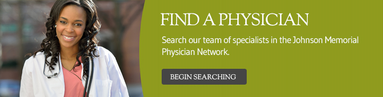 Female physician - Find a Physician - Begin searching button