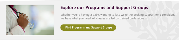 Explore our Programs and Support Groups - picture of doctor