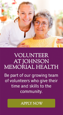 Volunteer at Johnson Memorial Health