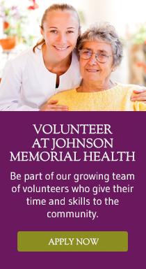 Volunteer at Johnson Memorial Health