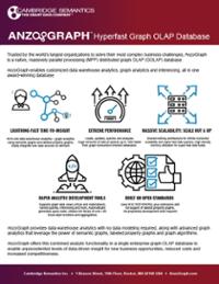 AnzoGraph Datasheet