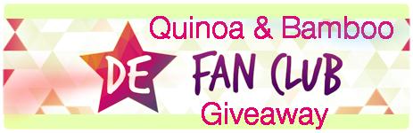 Quinoa & Bamboo Giveaway