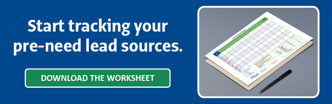 Download the lead tracking worksheet