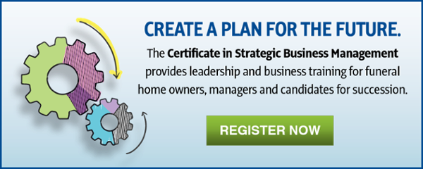 Register for the Certificate in Strategic Business Management