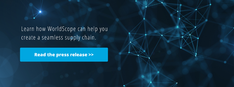 Learn how WorldScope can help you create a seamless supply chain. Click to read the press release.