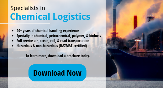 Download UWL Chemical Logistics Brochure - 20+ years of chemical handling experience with speciality in chemical, petrochemical, polymer, and biofuels sectors