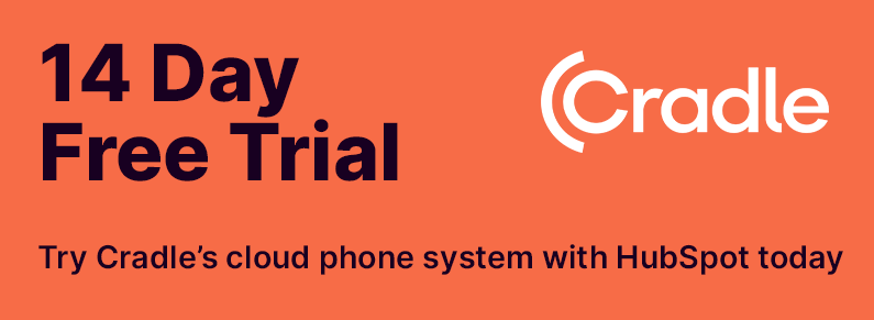 Cradle cloud phone system 14 day free trial