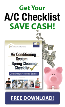 Get your A/C Checklist Save Cash Free Download