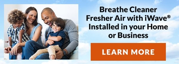 Breathe Cleaner Fresher Air with iWave Installed in your home or business