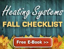 Heating System Fall Checklist Free Ebook