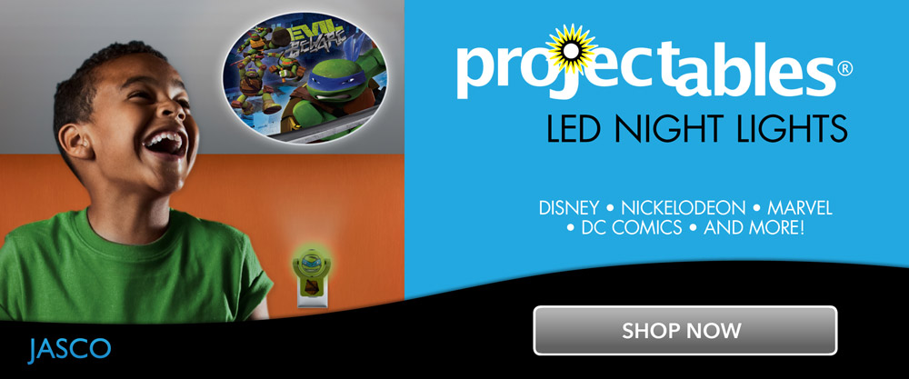 shop projectables LED night lights