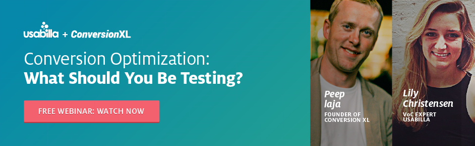 On Demand Webinar Conversion Optimization: What Should You Be Testing?