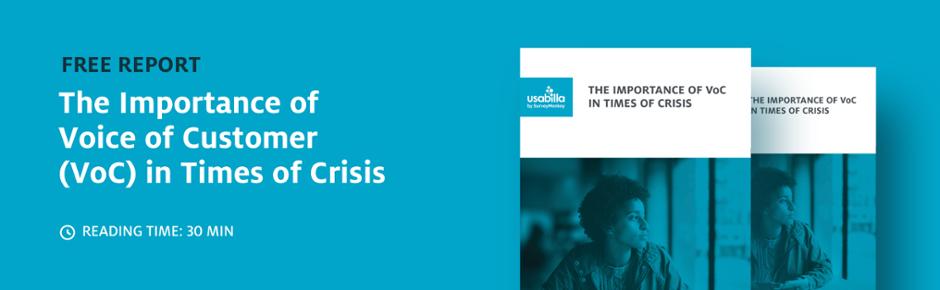 usabilla report covid crisis response voc