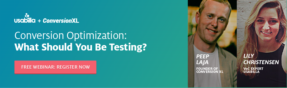 Conversion Optimization: What Should You Be Testing?