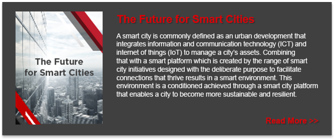 The Future for Smart Cities