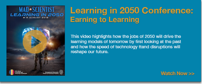 Learning in 2050 Conference: Earning to Learning