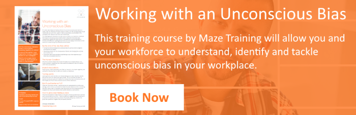 Working With An Unconscious Bias Course CTA
