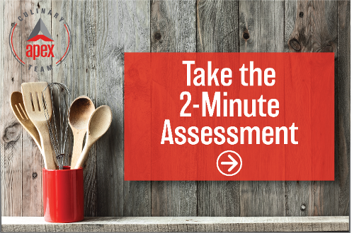 foodservice equipment assessment