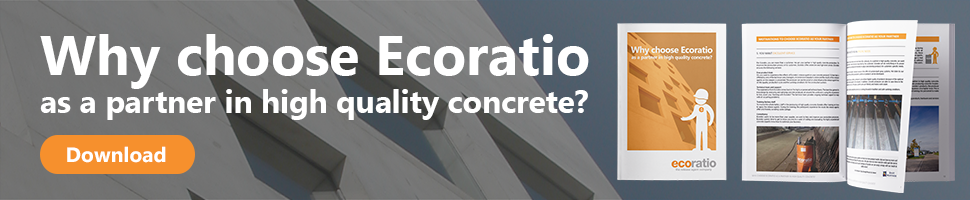 Why choose Ecoratio as a partner in high quality concrete?