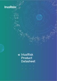 IriusRisk Product Datasheet Cover