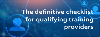 eBook: The definitive checklist for qualifying training providers