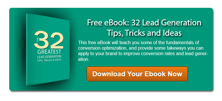 32 Greatest Lead Generation Tips, Tricks, & Ideas Ebook