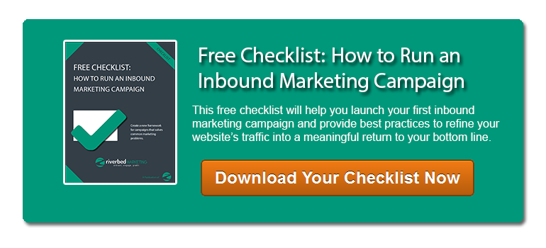 Download your inbound marketing checklist