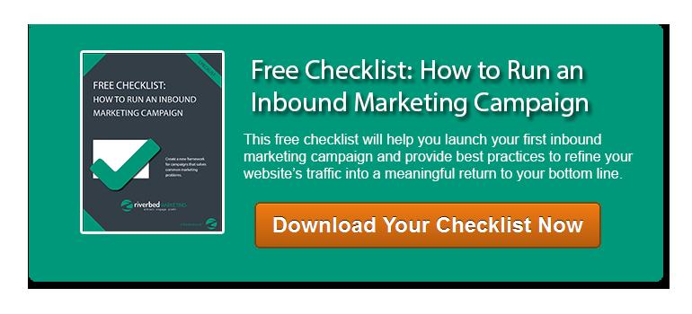 Download your inbound marketing checklist
