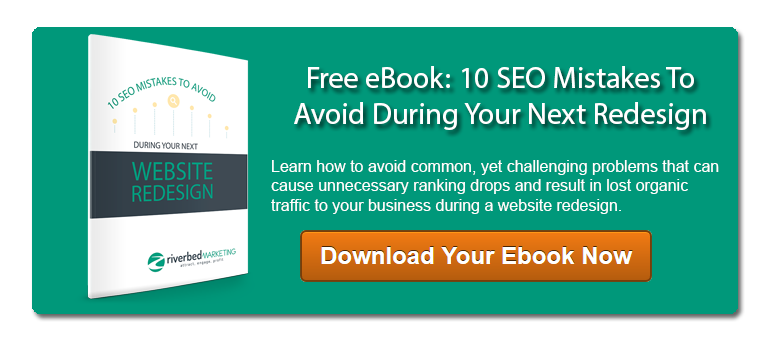 10 SEO Mistakes To Avoid During Your Next Website Redesign Ebook