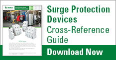 Surge Protection Devices Cross Reference