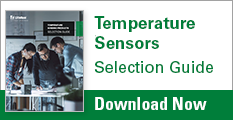 Temperature Sensors Selection Guide - Download Now