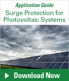 Surge Protection for Photovoltaic Systems