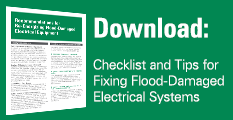 Checklist and Tips for Fixing Flood-Damaged Electrical Systems