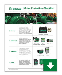 Download Motor Protection Checklist