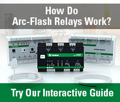 How do arc flash relays work?