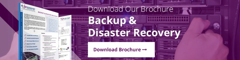 Backup & Disaster Recovery