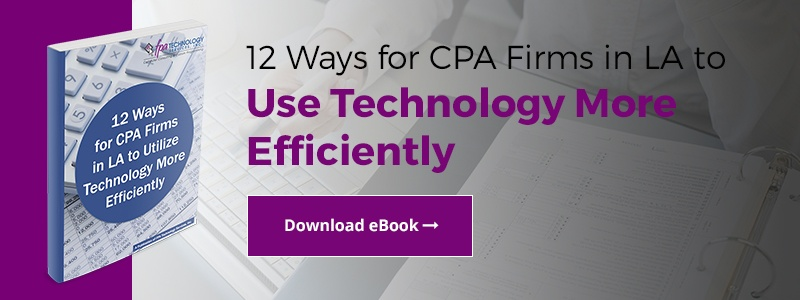 12 Ways for CPA Firms in LA Use Technology ebook