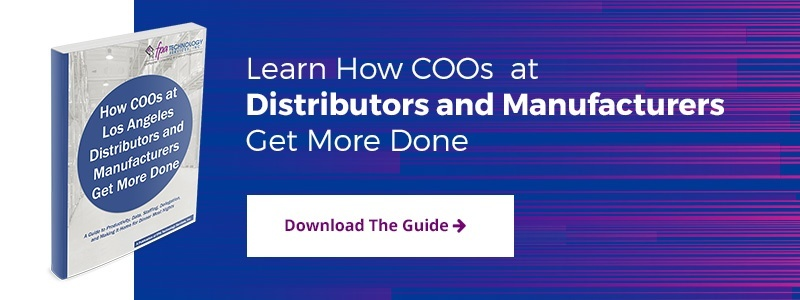 How COOs at Los Angeles Distributors and Manufacturers Get More Done