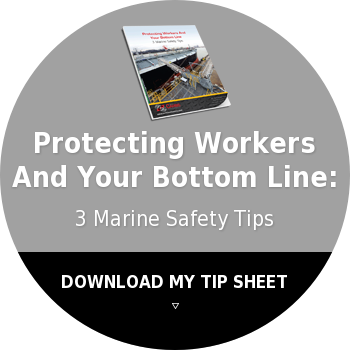 Protecting WorkersAnd Your Bottom Line:3 Marine Safety TipsDOWNLOAD MY TIP  SHEET